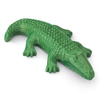 Green Alligator Shaped Soap