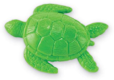 Green Sea Turtle Soap Shaped Sculpted Molded