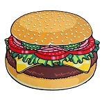 5-foot Cheeseburger Beach Blanket