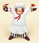 "5"" Cooking French Chef Statuette - 4 styles"