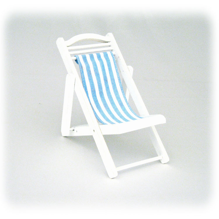 Mini 6 5 Quot Wood Amp Canvas Folding Deck Beach Chair Beach