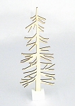 Nordic Tree Wood Cutout With Base - 3 sizes