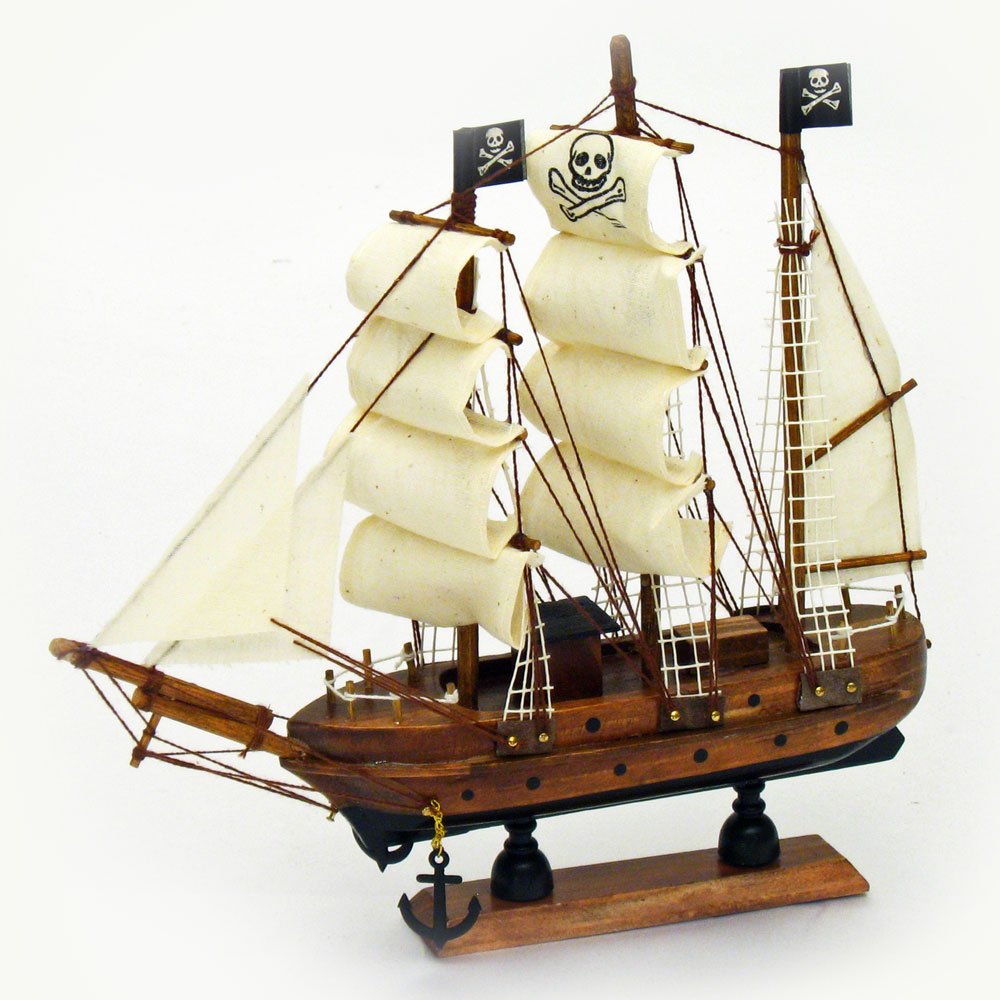 Model Pirate Ship | Adult Theme Party Decorations