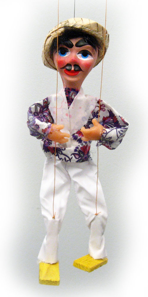 authentic mexican marionette puppets