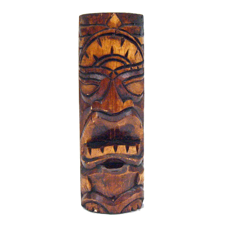 hawaiian tiki god statue