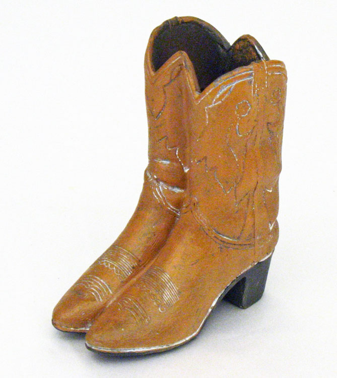 "4 5"" Mini Cowboy Boots Vase"