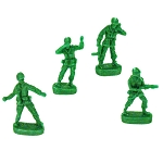 Army Men Party/Birthday Candles