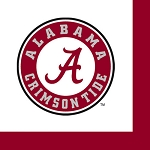 Alabama Crimson Tide Beverage Napkins (36)