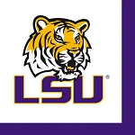 LSU Tigers Beverage Napkins (36)