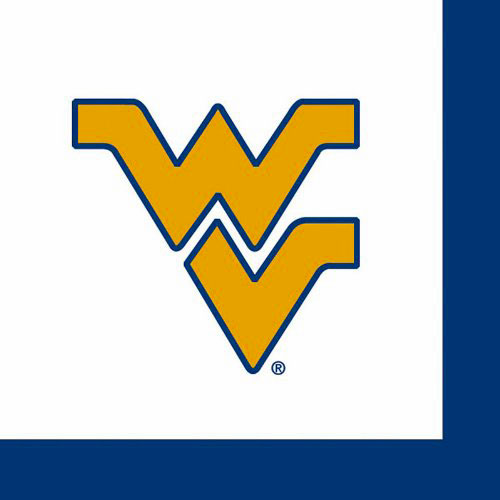 West Virginia Mountaineers Luncheon Napkins