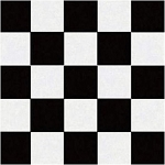 Black & White Check Beverage Napkins (50)