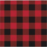 Lumberjack/Buffalo Plaid Paper Napkins (16) - 2 sizes