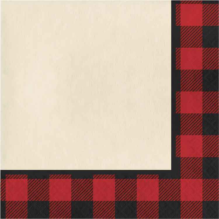 Lumberjack/Buffalo Plaid Paper Napkins | Fall | Country ...