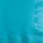 Bermuda Blue Beverage Napkins (50)