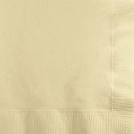 Classic Ivory Paper Napkins (50) - 2 sizes