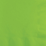 Fresh Lime Green Beverage Napkins (50)