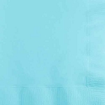 Pastel Blue Paper Napkins (50) - 2 sizes