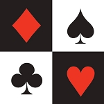 Playing Card Suits Beverage Napkins (16)