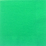 Festive Green 3-Ply Beverage Napkins (50) **CLEARANCE**