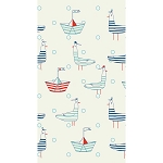 Retro Nautical Seafarer Seagulls Dinner Napkins (16)