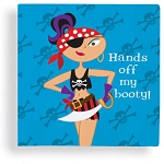 Hands off my booty!' Pirate Beverage Napkins