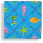 Palm Beach Preppy Beverage Napkins (24)
