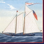 Schooner America Napkins - 3 sizes