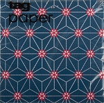 Geometric Starburst Red, White & Blue Beverage Napkins (20) **CLEARANCE**