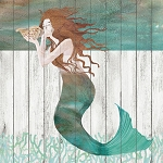 Waterside Mermaid Beverage Napkins (20)