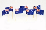 Australia Flag Toothpicks (100)