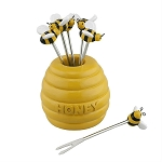 Honey Bee Hive Party Fork Set (6)