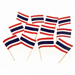 Thailand | Thai Flag Toothpicks (100)
