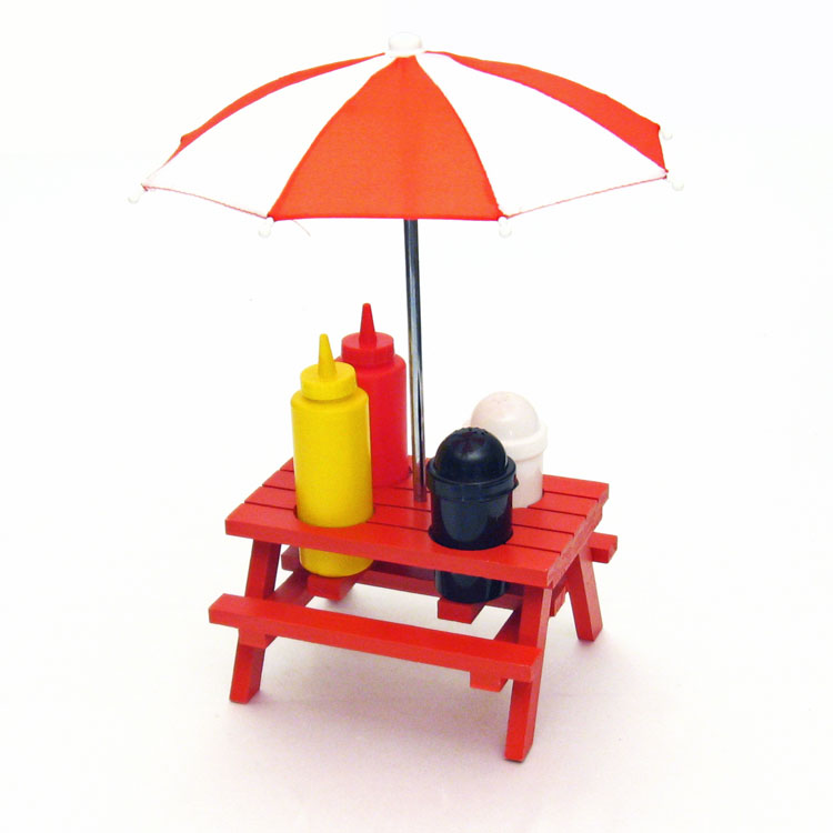 Kids Picnic Table - EASYSTORE TABLE w/umbrella - Little Tikes