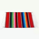 Mexican Striped Serape Placemat (color varies)