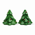Christmas Tree Evergreens Salt & Pepper Shakers