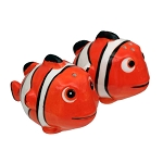 Clown Fish Ceramic Salt & Pepper Shakers