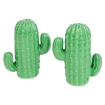 Ceramic Saguaro Cactus Salt & Pepper Set