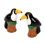 Toco Toucan Ceramic Salt & Pepper Shakers