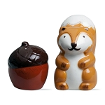 Autumn Squirrel & Acorn Salt & Pepper Shakers