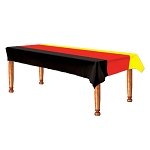 Germany Black, Red & Yellow Plastic Tablecover