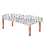 Musical Notes Plastic Tablecover