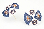 Auburn Tigers Drink Umbrellas/Parasols (24) **CLEARANCE**