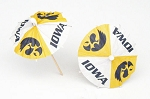 Iowa Hawkeyes Drink Umbrellas/Parasols (24)