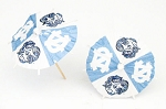 North Carolina Tar Heels Drink Umbrellas/Parasols (24)