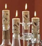 Realistic Wine Cork Candles (4)