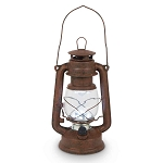 High Intensity LED Vintage-Style Hurricane Lantern - 3 colors