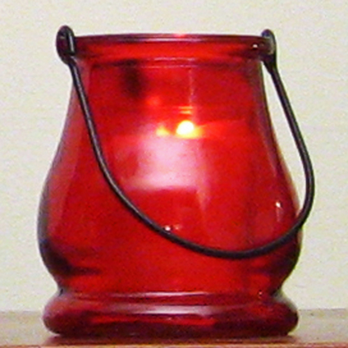 Red mini lantern candle holder party decorations supplies