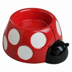 Ceramic Ladybug Tea Light Candle Holder