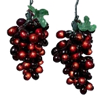 Burgundy Grapevine String Lights