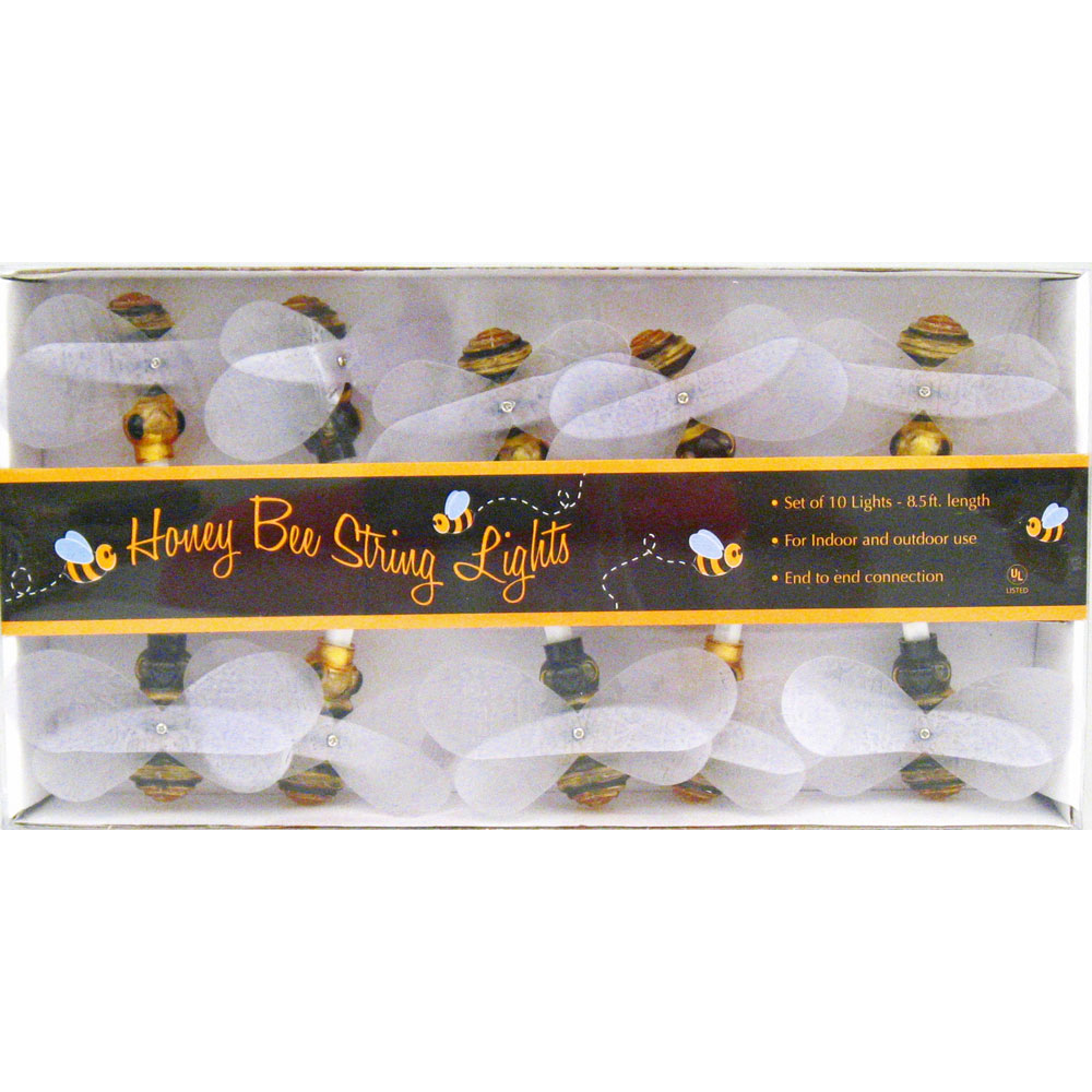 Novelty String Lights Outdoor Honey bee string lights insects bugs spring garden theme honey bee string lights insects bugs spring garden theme party decorations workwithnaturefo